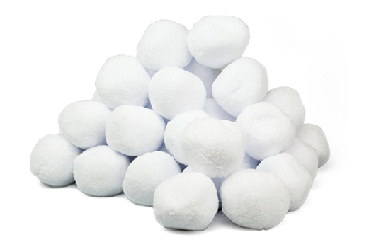 Snowball pile