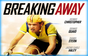 Movie cover of Breaking Away