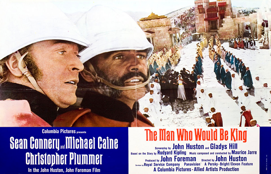 Film as Literature Classic Film Series: The Man Who Would Be King (1975) 129 min