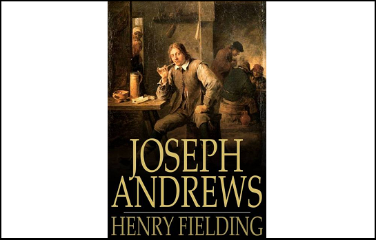 Book cover of Joseph Andrews by Henry Fielding