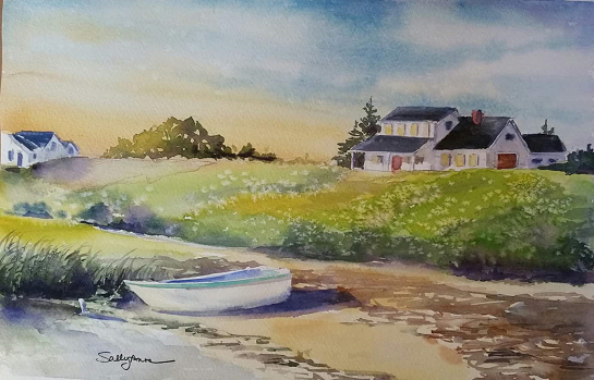 Art Exhibit: Sally Anne Keller: Atmospheric Watercolors