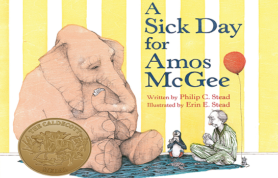 Cover of book, A Sick Day for Amos McGee