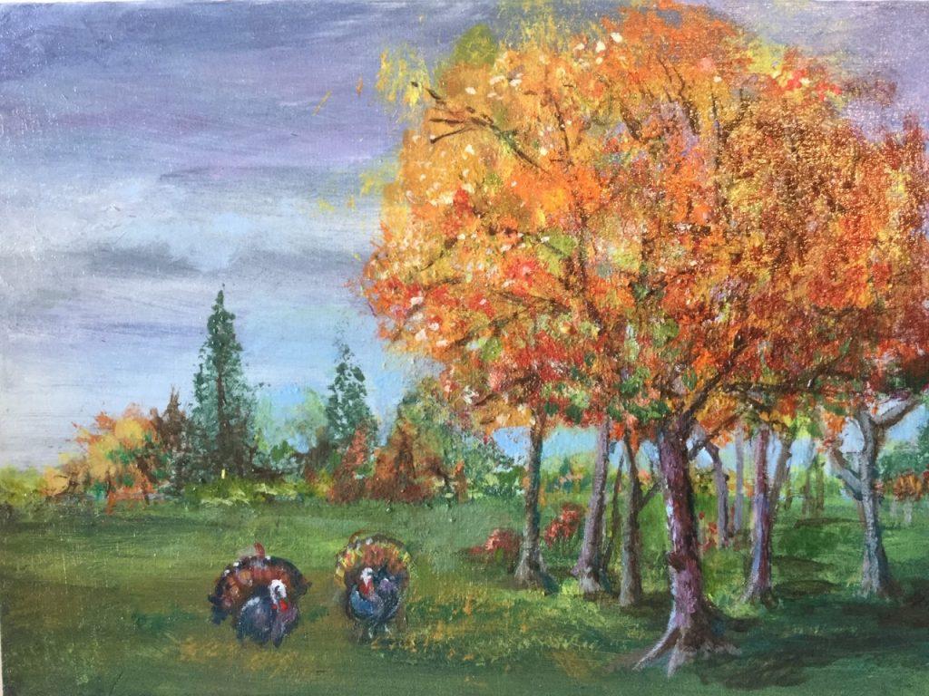 Acrylic Painting - Judy Pagano