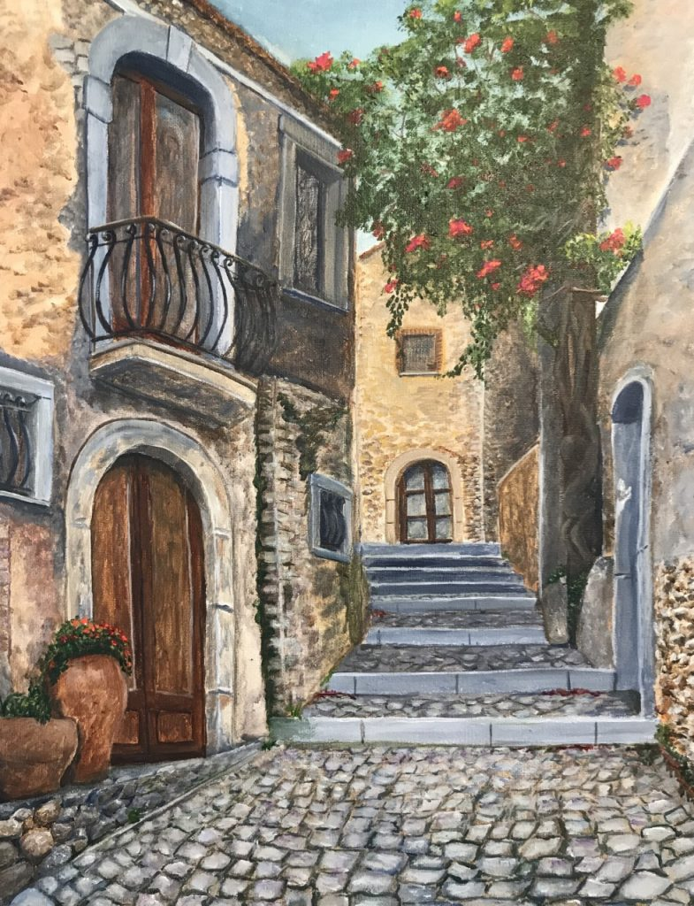 Gena Vaccarello- Sicilia Acrylic