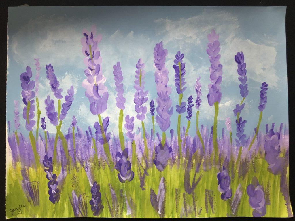 Painted Landscape - Janelle T