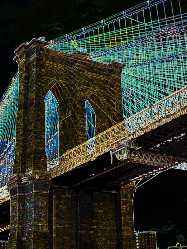 Ron Ondorvic - Brooklyn Bridge a la Mac