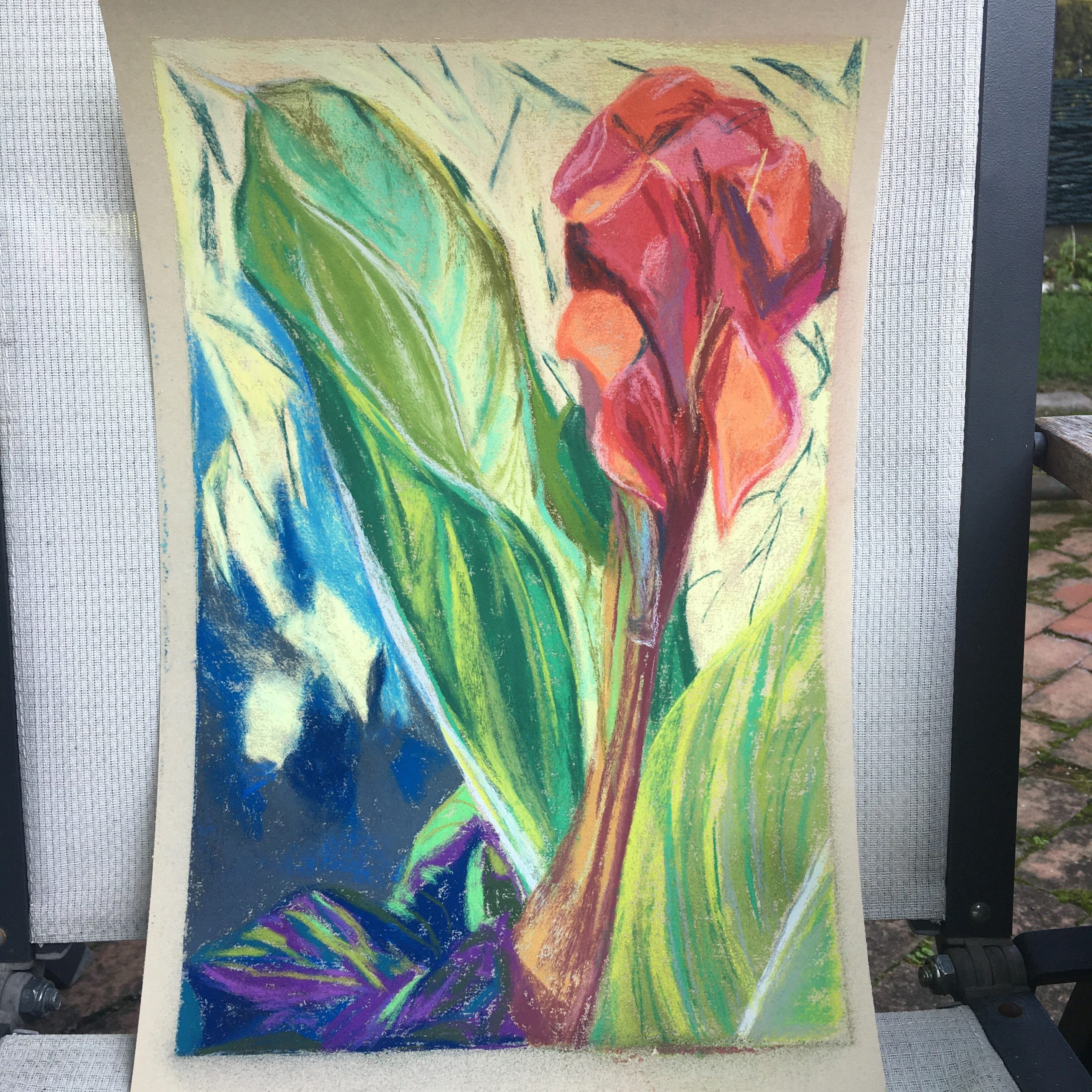 Art By Lorena Doherty, Red Canna