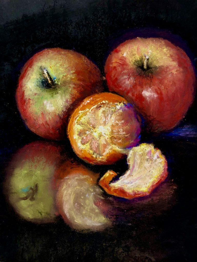 Apples Oranges by Maire Camenares