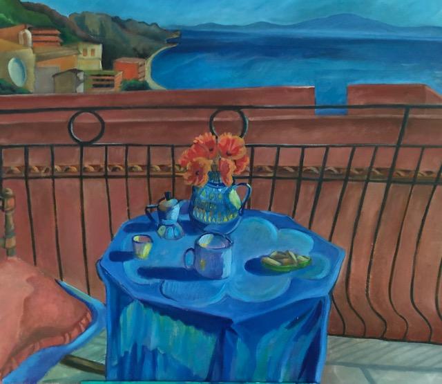 Delia's Caffe-Art by Eileen Butler