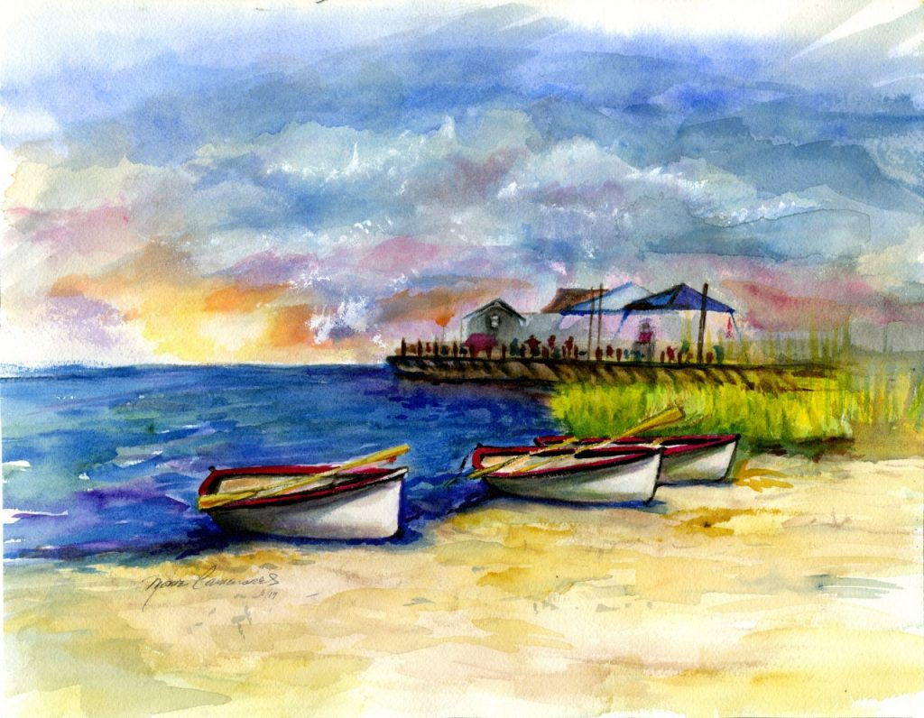 Water Coloring by Maire Camenares