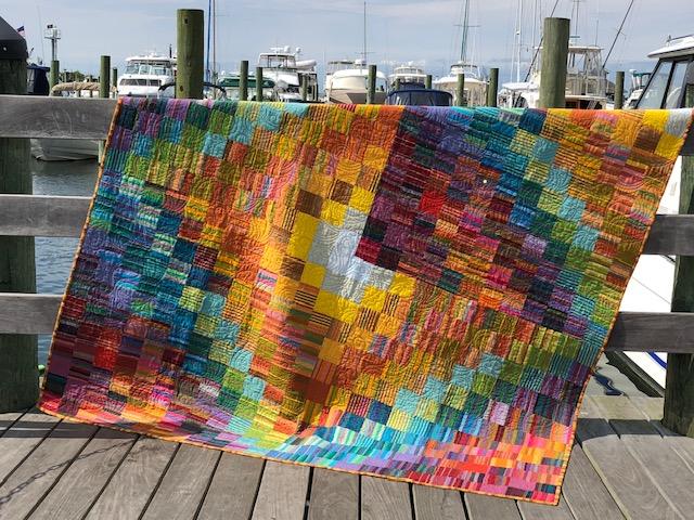 Quilt, by Roberta Leonard